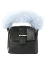 FAKE FUR HAND BAG