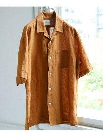 【SALE/40%OFF】リネンオープンカラーシャツ アーバンリサーチドアーズ シャツ/ブラウス【RBA_S】【RBA_E】【送料無料】