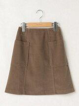 ポケット付きシャギースカート