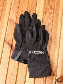Marmot (M)Lite Inner Glove マーモット ファッショングッズ 手袋 ブラック