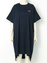 BACK STENCIL S/S BIG TEE DRESS