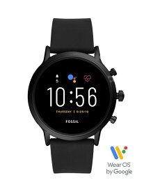 FOSSIL SMARTWATCH THE CARLYLE HR SMARTWATCH フォッシル ファッショングッズ 腕時計 ブラック【送料無料】