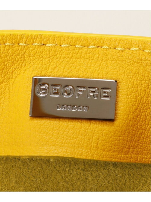 GEOFRE LONDON/PLAY SMALL レザートートバッグ