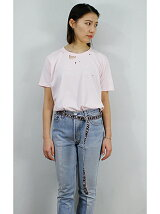 CRASHED TEE with BELT