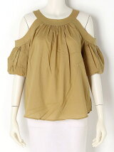 Cutout Shoulder Blouse
