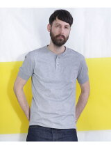 Anti Soaked Henley T SS