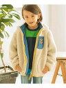 3can4on(Kids) 【リバーシブル】モコフリース&プリントブルゾン サンカンシオン【送料無料】