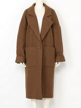 LOW COLLAR MOSSA COAT