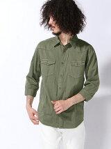 (M)ピグメントウォッシュ7ブシャツ