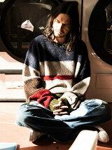 Winston border knit