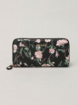 rienda/OLD ROSE FLOWER PRINT ROUND WALLET