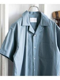 【SALE/50%OFF】DOORS イージーケアオープンカラーシャツ アーバンリサーチドアーズ シャツ/ブラウス シャツ/ブラウスその他 グレー ブルー【送料無料】