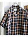 【SALE/50%OFF】DOORS イージーケアオープンカラーシャツ アーバンリサーチドアーズ シャツ/ブラウス シャツ/ブラウ…