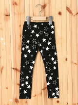 LEGGINGS STAR PRINT(4T~7T)