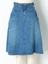 ねこ手ながめスカート