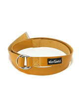 (M)【WILD THINGS】LEATHER D RING BELT