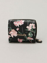 rienda/OLD ROSE FLOWER PRINT MINI WALLET