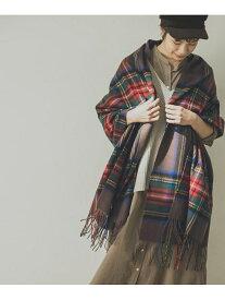 URBAN RESEARCH TWEED MILL Lambswool Stole アーバンリサーチ ファッショングッズ マフラー/スヌード ブラウン パープル【送料無料】