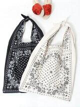 【WEB限定】【Market】バンダナパターンショルダーバッグ