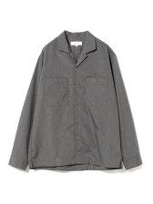 【予約】ビーミング by ビームス / TC オープンカラー ロングスリーブシャツ BEAMS