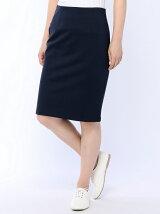 (W)スムースカットタイトスカート