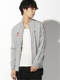 Munsingwear (M)ヒートナビニットブルゾン マンシングウェア コート/ジャケット ブルゾン グレー ネイビー【送料無料】
