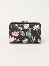 rienda/OLD ROSE FLOWER PRINT MINI ROUND WALLET