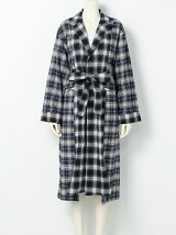 TWIN CHECK FLANNEL GOWN