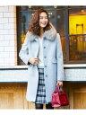 【SALE/50%OFF】any SiS カシウールモッサ ステンカラー コート エニィスィス コート/ジャケット ステンカラーコート…
