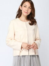 (W)ノーカラータック入りジャケットJP(日本限定)