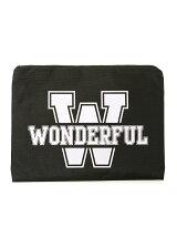 [アウトレット]【Life style】WONDERFULプリントクラッチ