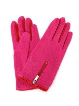 (W)バイカラーウールグローブ・手袋DDF3