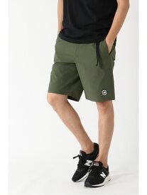 【SALE/18%OFF】ikka New Balance ストレッチウーブンショートパンツ イッカ パンツ/ジーンズ ショートパンツ レッド ブラック グリーン ブルー【送料無料】