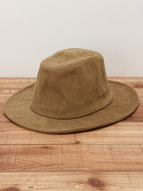 U USC FAKE SUEDE LONG BRIM HAT