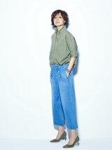 Yoshiko Tomioka For RED CARD / セーラー デニム パンツ レイ ビームス Ray BEAMS パンツ レッドカード