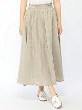 グランジリネンシャーリングスカート