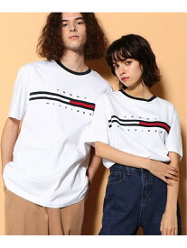 【SALE/20%OFF】TOMMY HILFIGER TOMMY HILFIGER(トミーヒルフィガー) トミーヒルフィガーロゴTシャツ/TINO TEE ロゴ Tee カットソー 半袖 Tシャツ メンズ トミーヒルフィガー カットソー Tシャツ ホワイト グレー ネイビー レッド【送料無料】