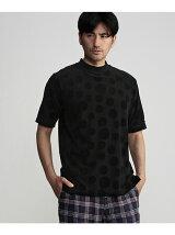 パイルJQ モックネックTシャツ