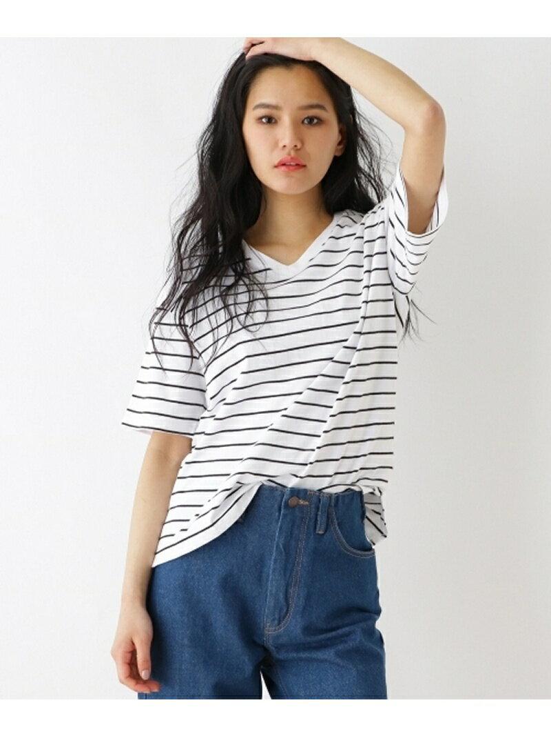 【SALE/60%OFF】OZOC 【洗える】コットン半袖Tシャツ オゾック カットソー【RBA_S】【RBA_E】