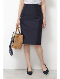 【SALE/30%OFF】[洗える]ビッグポケットストレートスカート ナチュラルビューティベーシック スカート【RBA_S】【RBA_E】【送料無料】