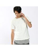 ストレッチミニ裏毛圧着Tシャツ(半袖)