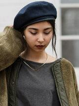 wool ベレー帽