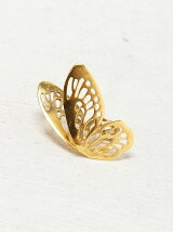 Butterfly pierced earrings A sta