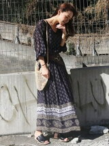 Georgette Pattern Dress