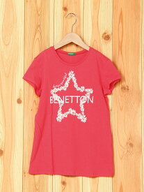【SALE/60%OFF】BENETTON (UNITED COLORS OF BENETTON) (K)KIDSニューロゴベーシックTシャツ・カットソー ベネトン(ユナイテッド カラーズ オブ ベネトン) カットソー【RBA_S】【RBA_E】