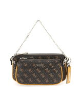 (W)Logo Double Pouch Crossbody