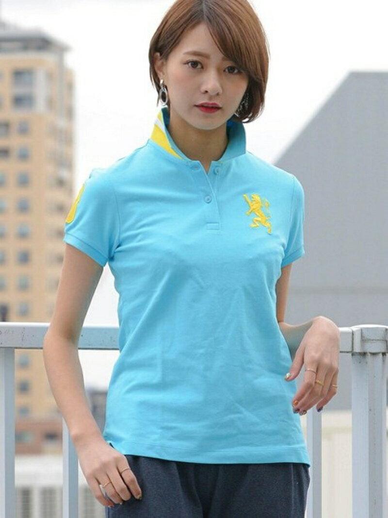 【SALE/20%OFF】GIORDANO (L)3Dライオンポロシャツ ジョルダーノ カットソー【RBA_S】【RBA_E】