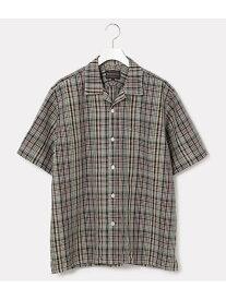 【SALE/70%OFF】ADAM ET ROPE' 【PENDLETON】別注オープンカラーシャツ(半袖) アダムエロペ シャツ/ブラウス【RBA_S】【RBA_E】