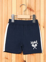 FRENCH TERRY S/S SHORTS(12M-3T)