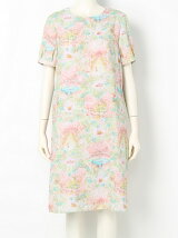 franche lippee/スッポリカクレル5分袖OP